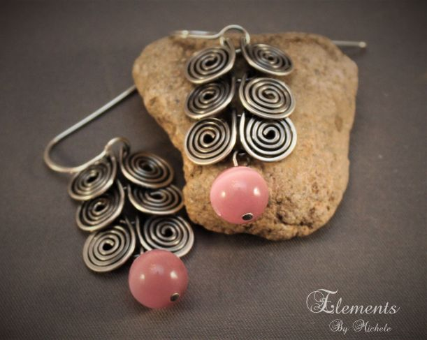 OBA_Pink EC Earring
